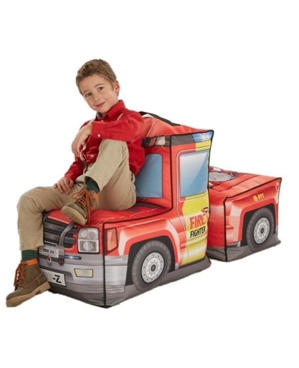 zitzak brandweerauto