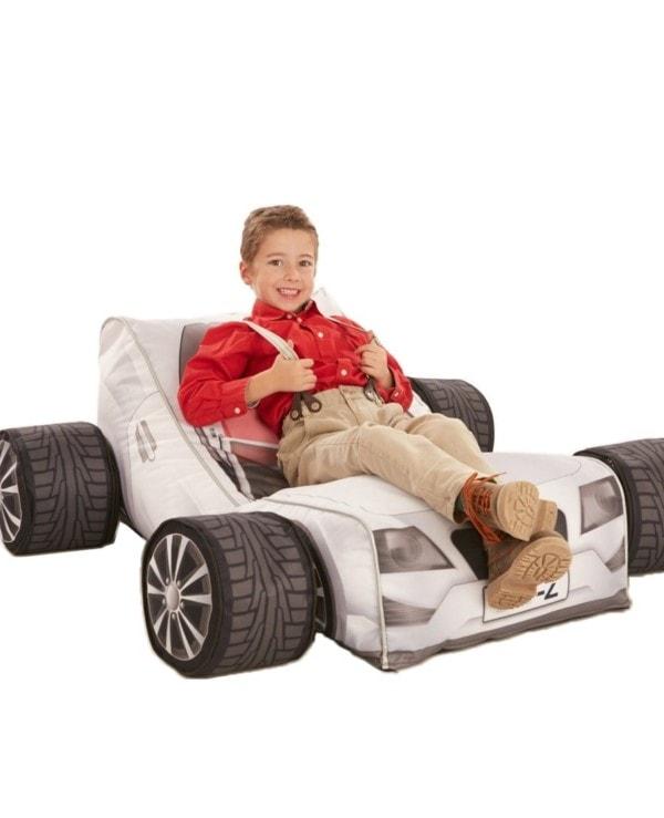 Kinder zitzak Racewagen zonder bandenset