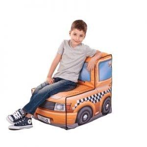 Kinder zitzak taxi