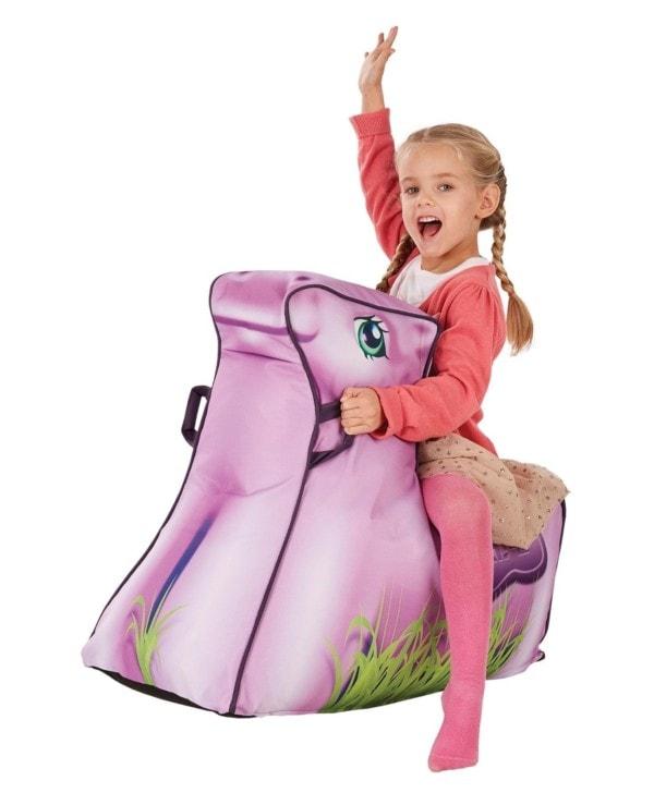 Kinder zitzak pony