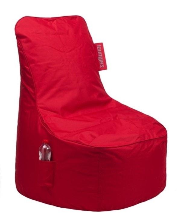 Loungiez zitzak stoel Rood