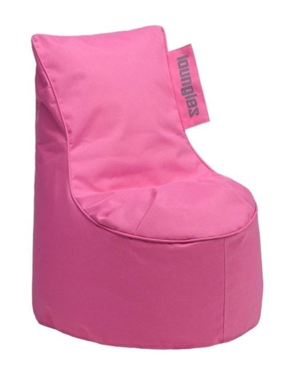 Loungiez zitzak stoel Roze Junior